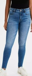 American Eagle High rise skinny fit jeans sz 2